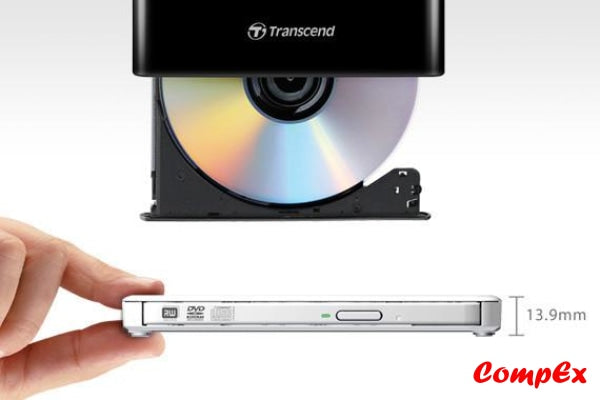 Transcend Extra Slim Portable Dvd Writer
