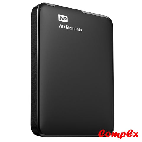 Wd 500Gb Elements Portable External Hard Drive - Usb 3.0 Wdbuzg5000Abk-Eesn Disk