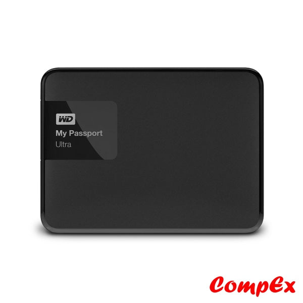Western Digital Black My Passport Ultra Portable External Hard Drive Disk