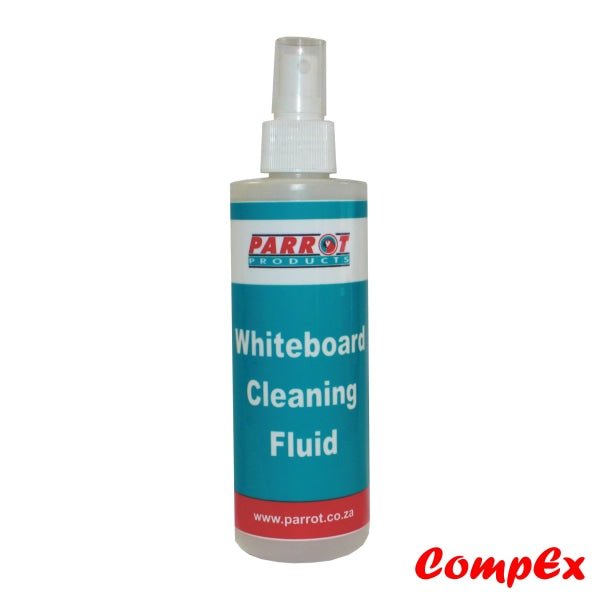Whiteboard Cleaning Fluid (237Ml - Carded) Erasers & Aqua Wipes