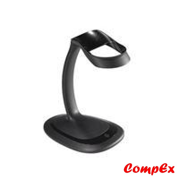 Zebra Ds2208 Barcode Scanner (Sr7U2100Azw) With Intellistand Gooseneck Stand (20-71043-04R)