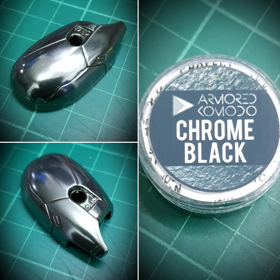 Chrome Black Chromaflair Pigment
