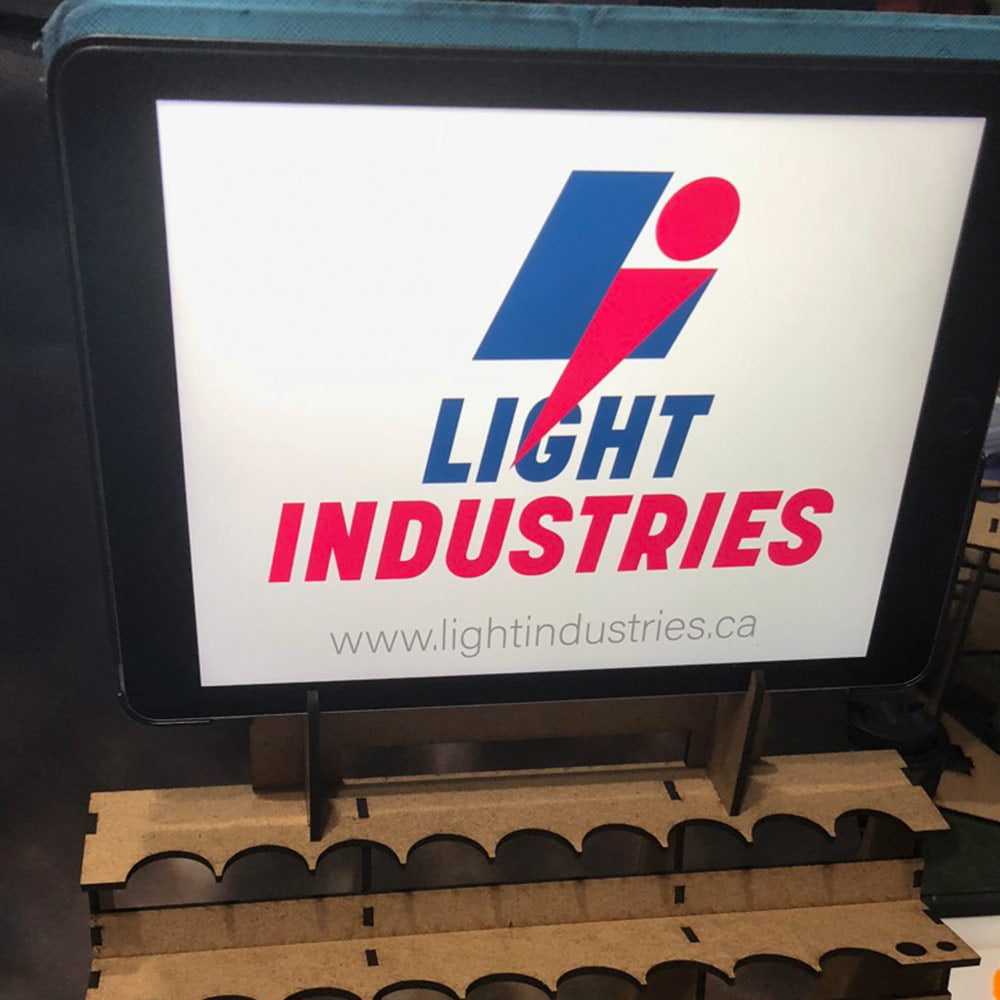 Light Industries Paint Station