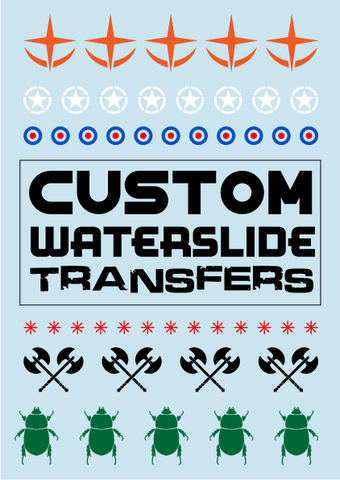 Custom Waterslide Decals