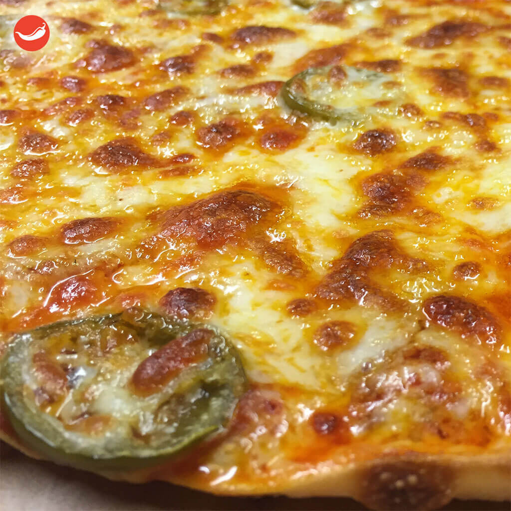 Spicy Double Up Pizza