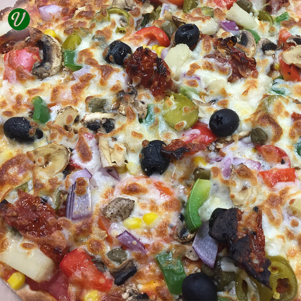 Vegetarian Deluxe Pizza