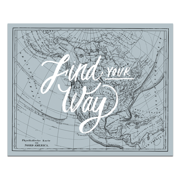 Find Your Way Map