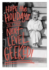 Geeked Holiday Postcard