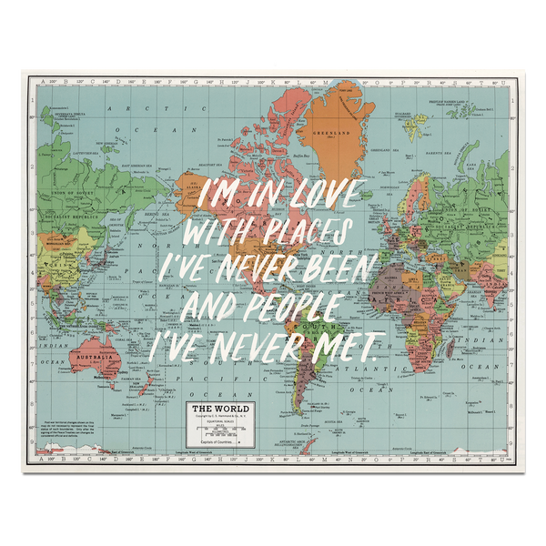I'm in Love Map