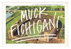 Muck Fichigan Postcard