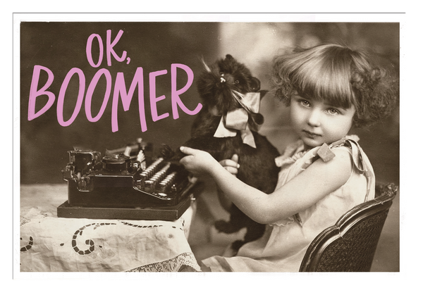 Ok, Boomer Postcard Set