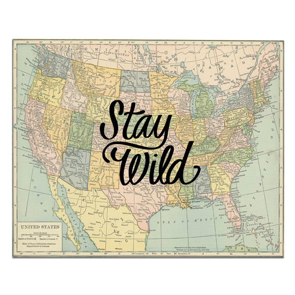 Stay Wild Map