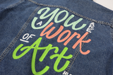 You Are a Work of Art Jacket