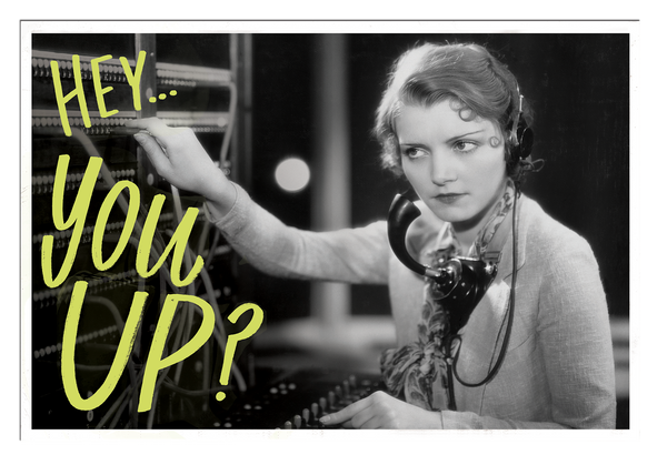 You Up Postcard