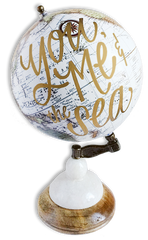 """You, Me and the Sea"" Globe"