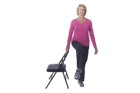 Senior Chair Balance Exercise