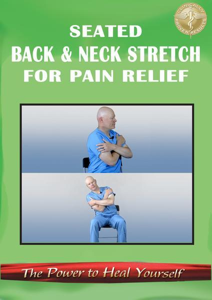 Gentle Seated Back & Neck Stretching DVD or Digital Version