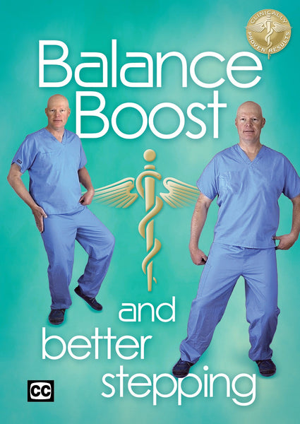 Balance Boost and Better Stepping DVD DVD Healing Exercise