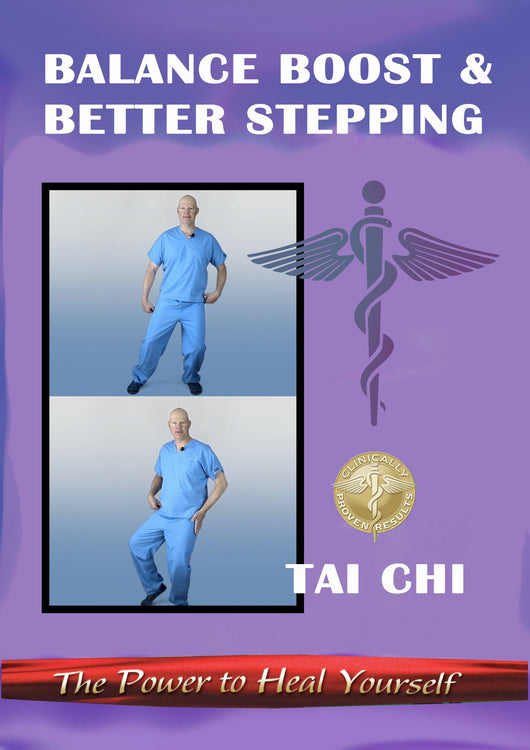NEW! Balance Boost & Better Stepping DVD 25% Off DVD Healing Exercise