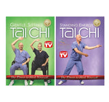 Sitting Tai Chi and Standing Energy Tai Chi Discounted DVD Bundle Healing Exercise