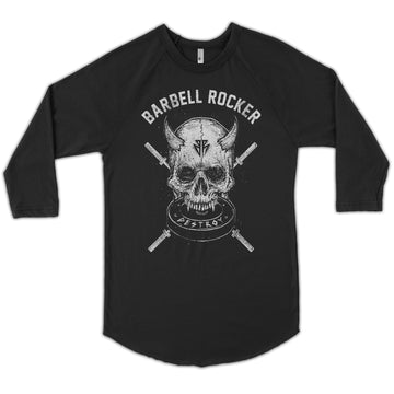 Even more evil - 3/4 sleeve raglan shirt black