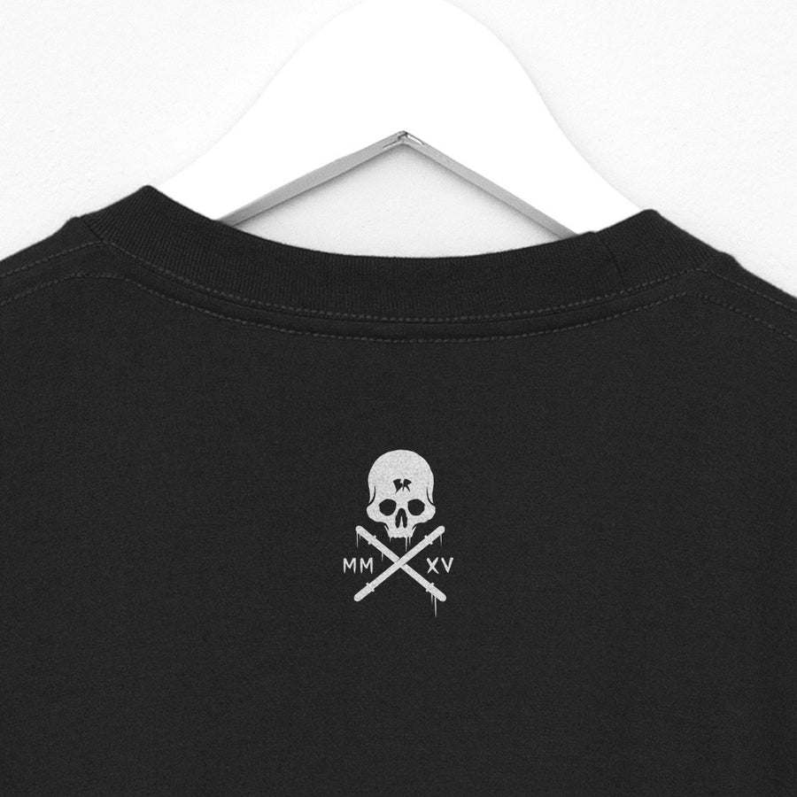 Crossfit T-Shirt - Simple skull neck