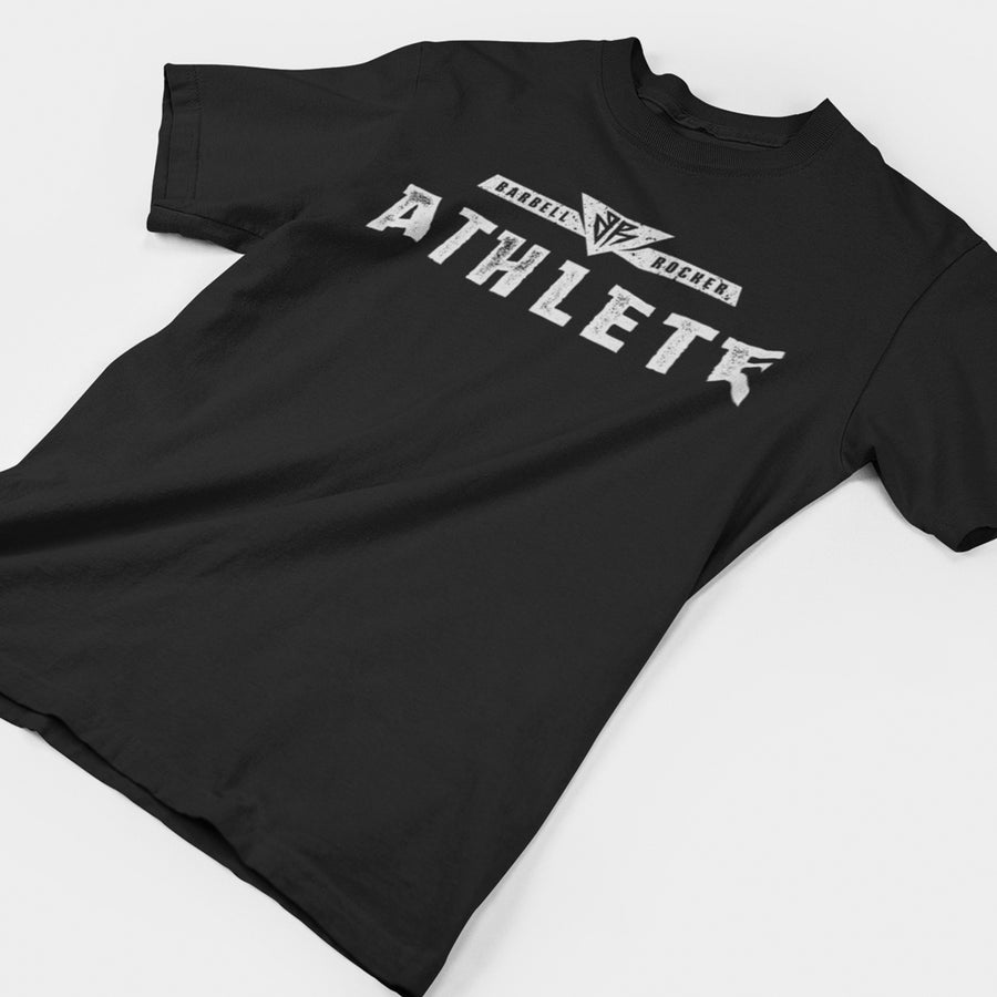 Barbell Rocker Athlete T-Shirt