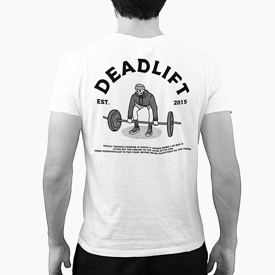 Barbell Rcoker Deadlift Arc Design Back Model