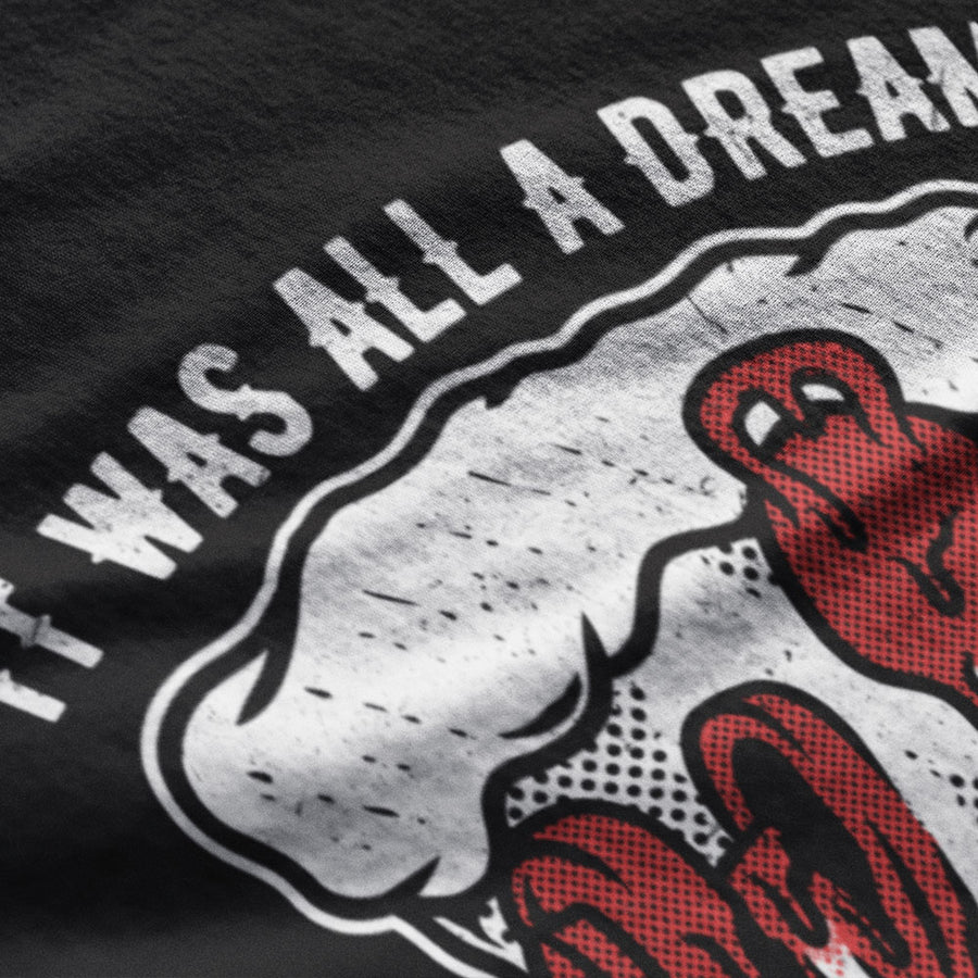 It was all a dream - Limited edition detail