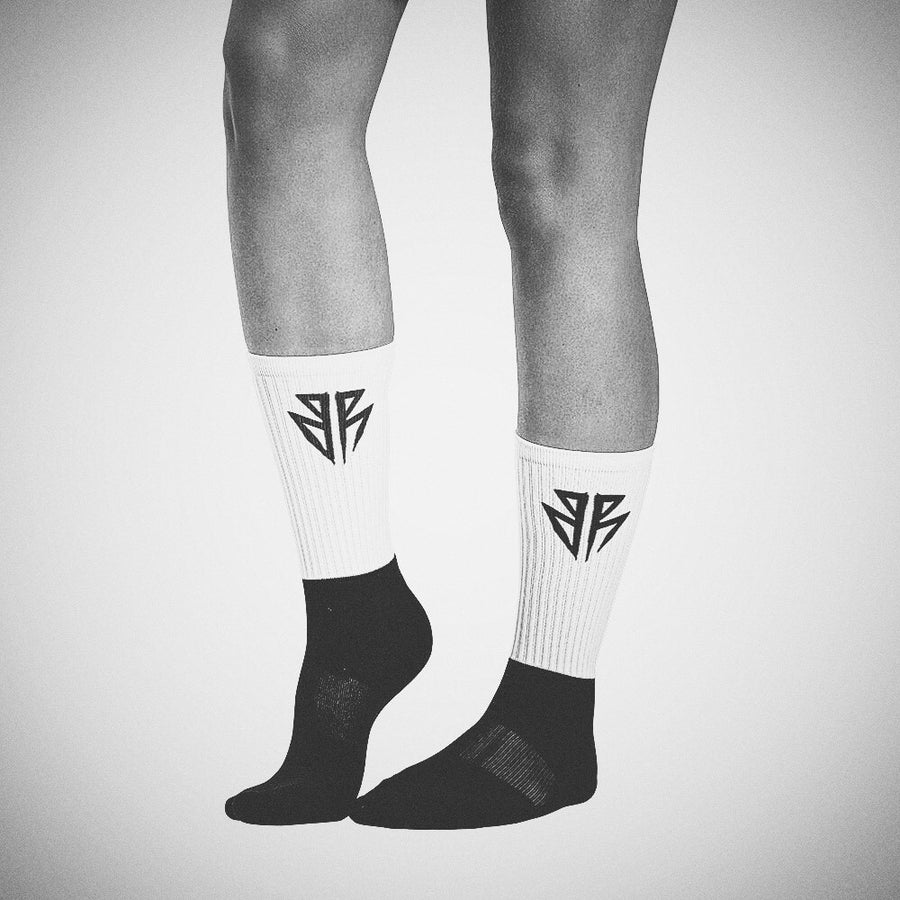 Barbell Rocker S3 // BR Black foot socks