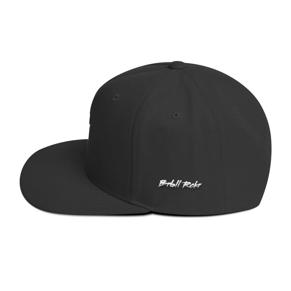 """BR"" Special Edition Snapback Side"