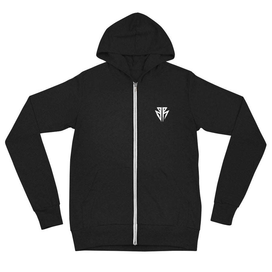 Strength, growth, effort & struggle - Unisex zip hoodie