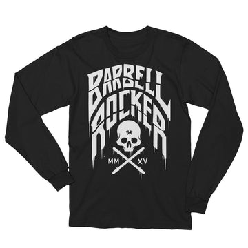 Barbell Rocker BR Skull Typo Unisex Long Sleeve