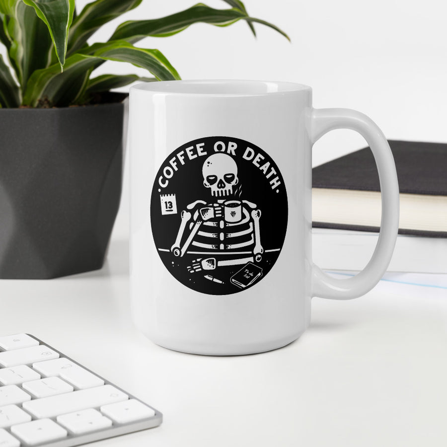 Coffee or death - Mug