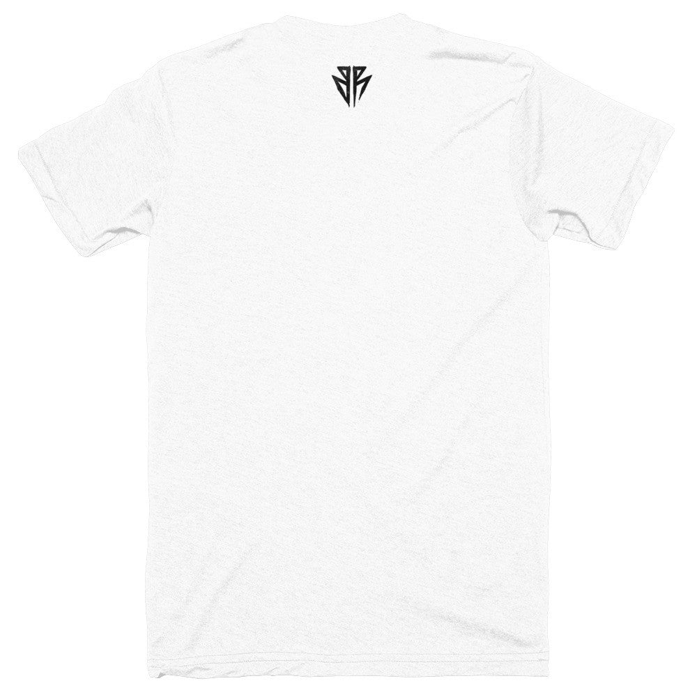 "BR ""Destroy"" T-Shirt White Back"