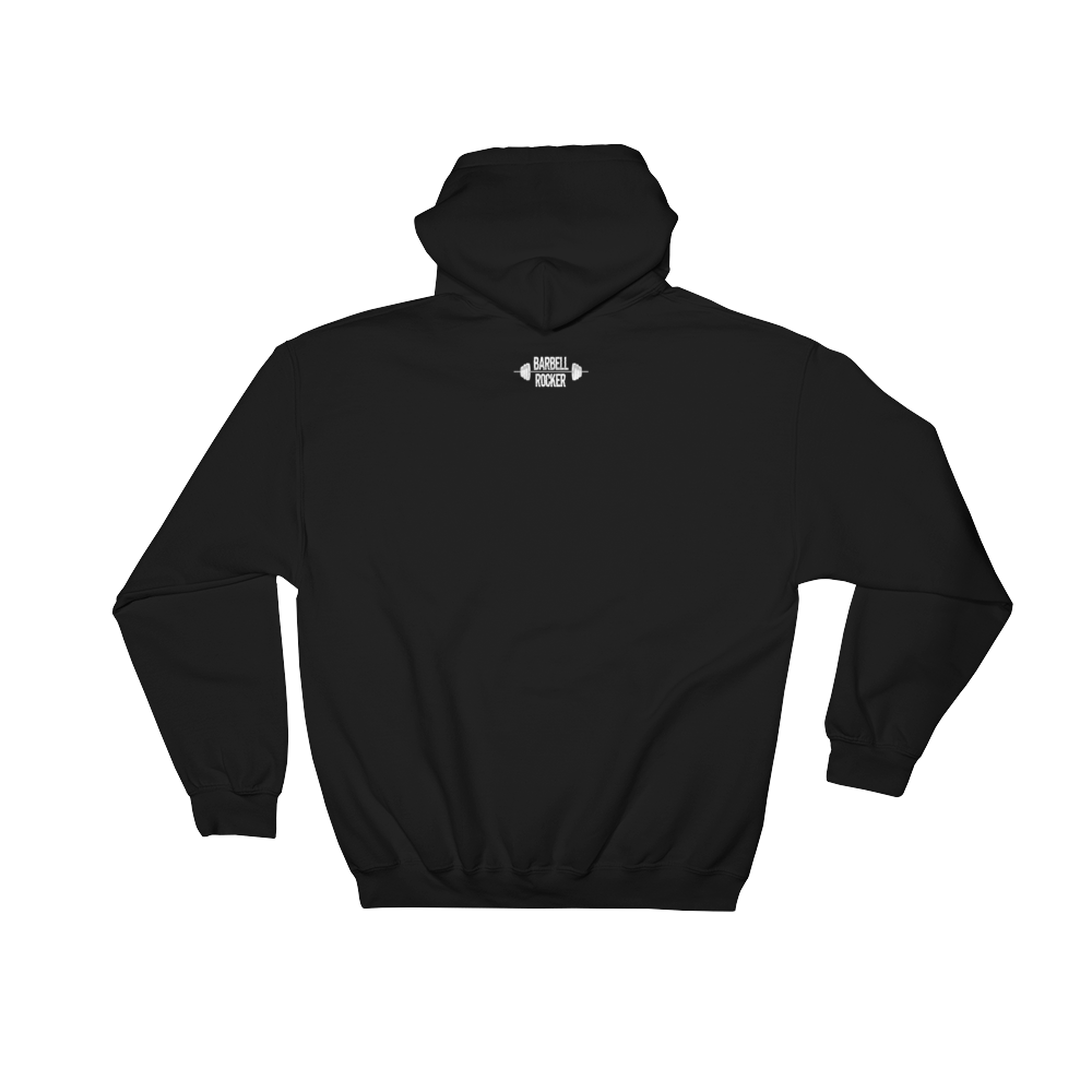 "BR ""Skull"" Hooded Sweatshirt Back"