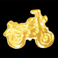 Motorbike 22ct yellow gold