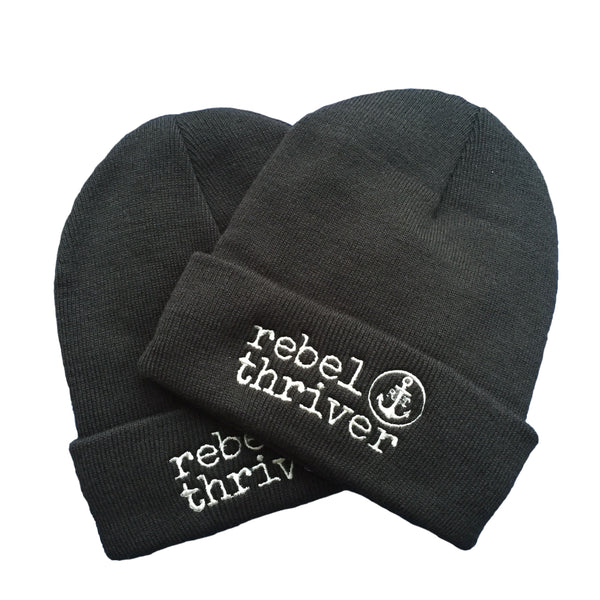 Rebel Thriver Winter Logo Beanie ⚓