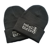 Rebel Thriver Logo Beanie ⚓