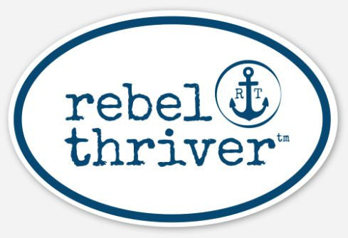 "Rebel Thriver ""Destination"" Sticker ⚓"