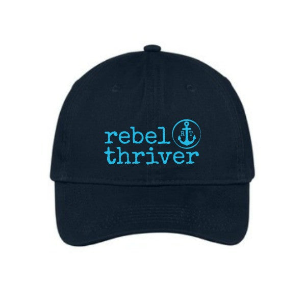 Rebel Thriver Logo Twill Baseball Cap ⚓