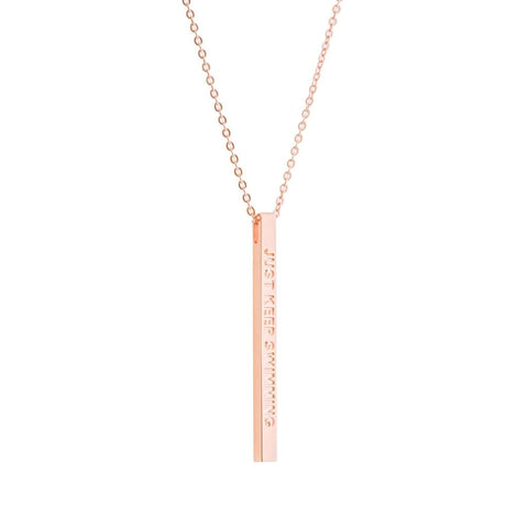 products/Just_Keep_Swimming_rose_gold_necklace_MantraBand.jpeg