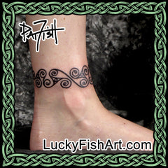 Bracelet and Anklet Tattoos