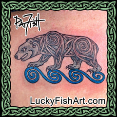 Bear Tattoo Designs