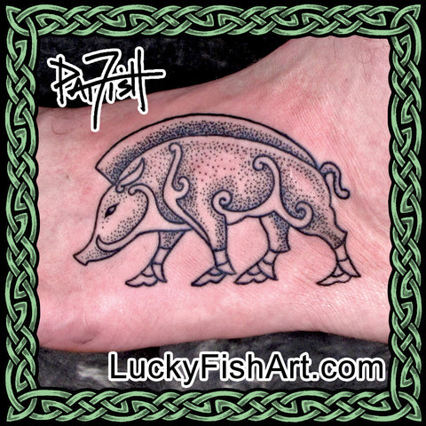 Boar & Pig Tattoos