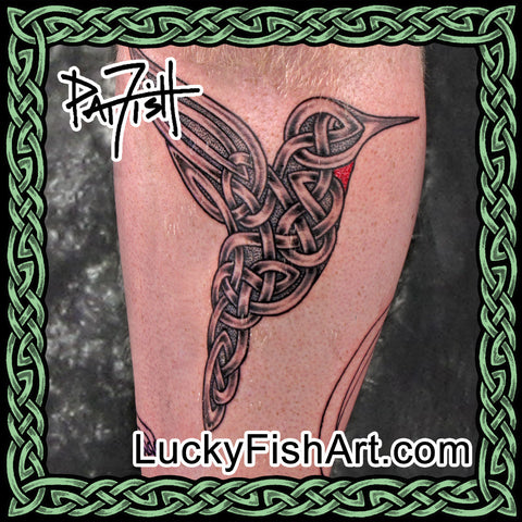 Celtic Bird Tattoos