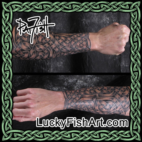 Celtic Sleeve Tattoos