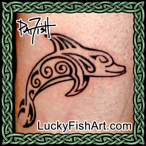 Whale & Dolphin Tattoos