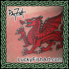 European Dragon Tattoos