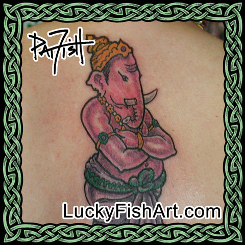 Hindu Tattoo Designs